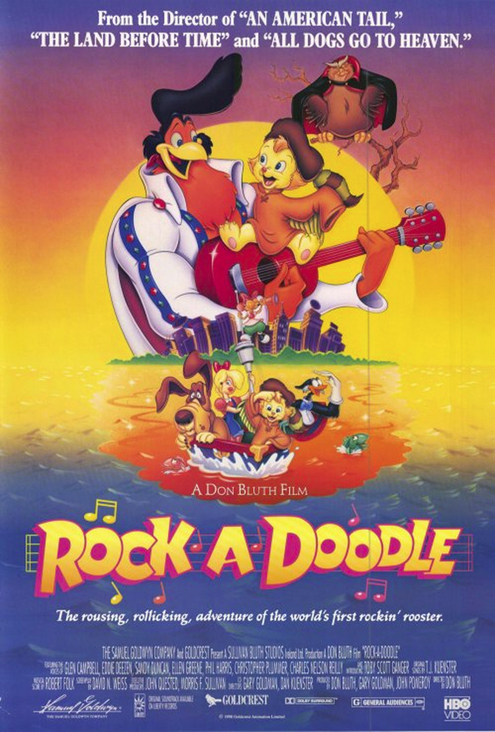 Movie drinking game rock a doodle edition seven for The chanticleer