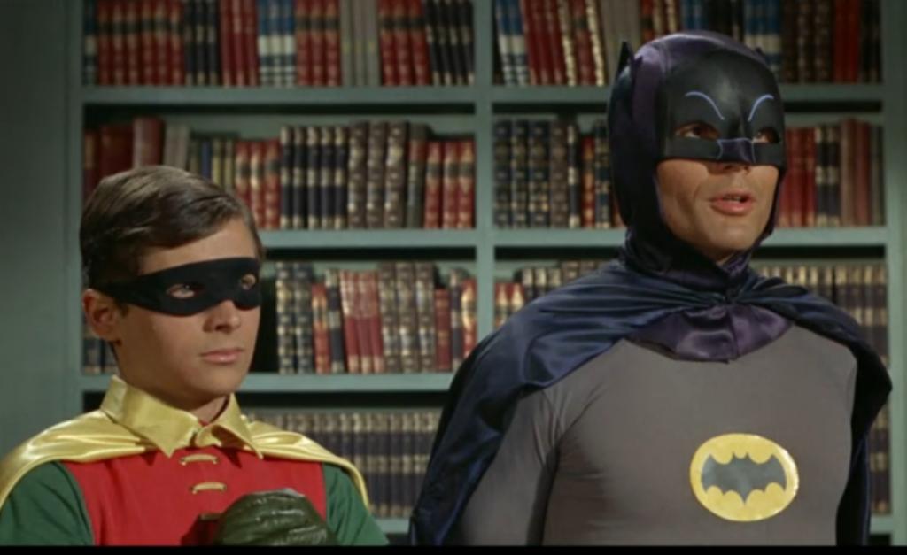 bats and robin