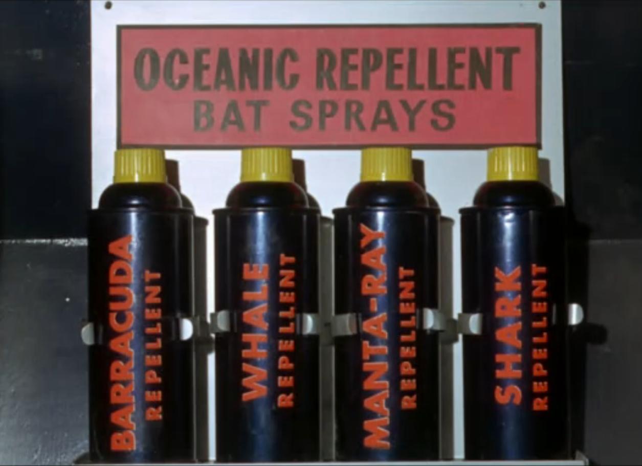 Holy sardine, Batman!