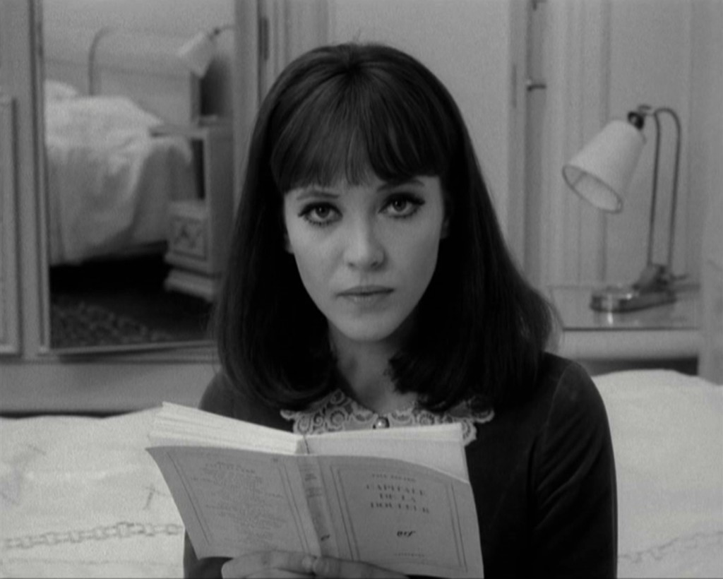 Anna Karina in Jean-Luc Godard's ALPHAVILLE (1965). Courtesy: Rialto Pictures