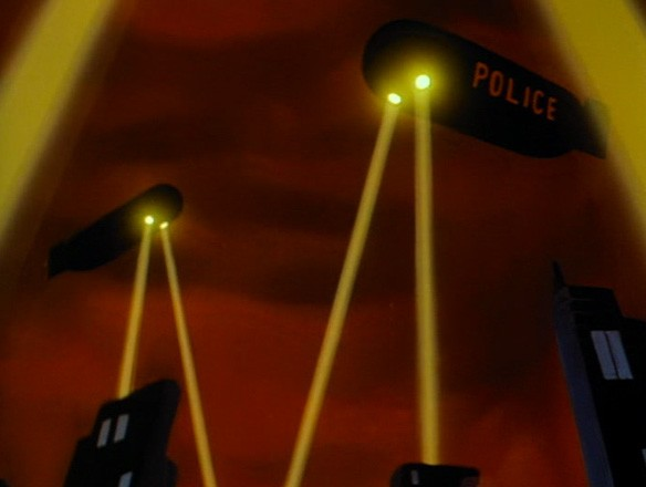The GCPD may be outgunned, understaffed and facing corruption at every level, but at least it has blimps!