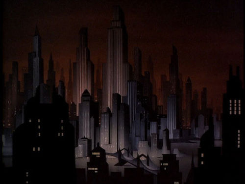 Gotham City as it was meant to be.