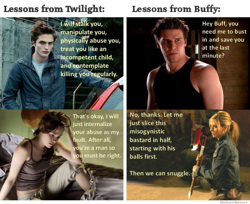 Twilight - 0 Buffy - 1
