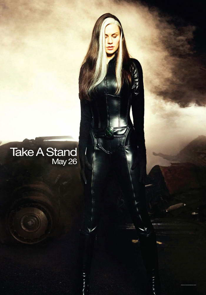 Take a stand? Bitch took the cure, not a stand.