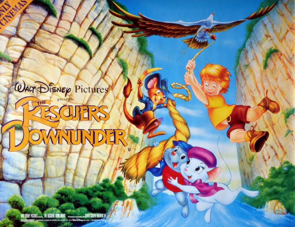 "Movie Drinking Game: ""The Rescuers Down Under"" – Seven Inches of ..."